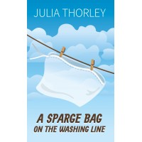 A Sparge Bag On The Washing Line